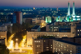 Friedrichshain by night