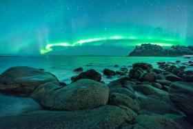 Polarlicht Uttakleiv
