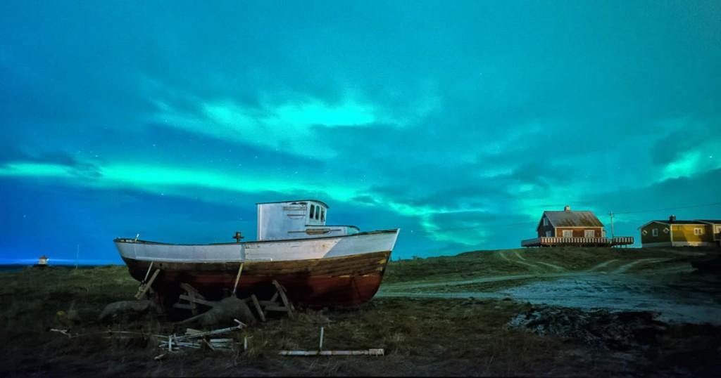 Polarlicht - Lofoten - Eggum