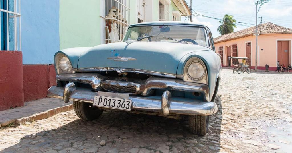 Kuba - Trinidad - Oldtimer